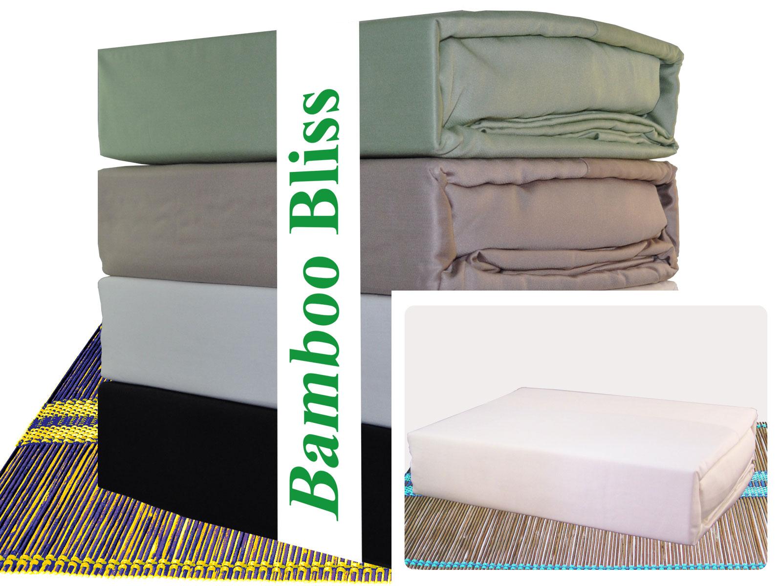 Bamboo Bliss Queen Size Duvet Combo Set U2013 White
